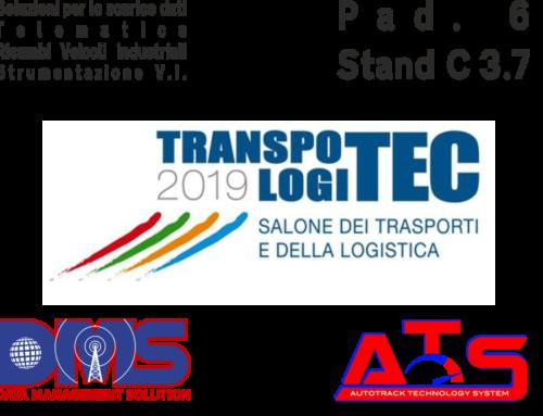 ATS e DMS ti aspettano al Transpotec , Verona 21-24 Febbraio 2019